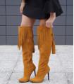Camel Long Boots