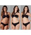 Multi Black Swim Suit