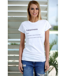"Tricou ""Happiness"""