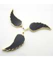Black Wing Necklace