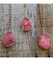 Cherry Crystal Necklace