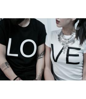Pair of T-shirts &quot Lo Ve&quot