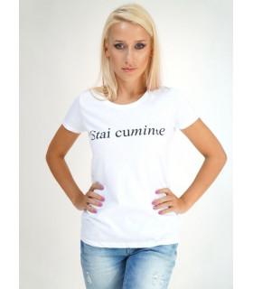 &quot Stai Cuminte &quot T-shirt