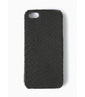 &quotDeep Black Snake&quot Phone Shell