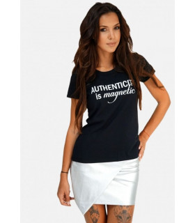 &quotAuthenticity&quot Black T-shirt