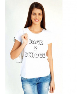 "Tricou ""Back 2 School """