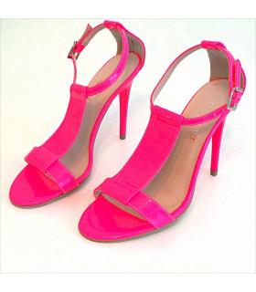 Pink neon Sandals
