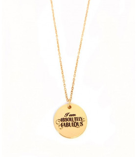 &quot I am Absolutely Fabulous &quot  Necklace