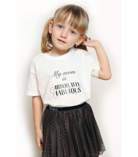 """Tricou """"My Mom is Absolutely Fabulous"""" Kids"""