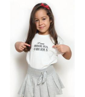 "Tricou ""I Am Absolutely Fabulous"" Kids"