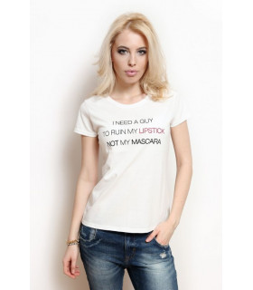 &quotMy lipstick&quot T-shirt