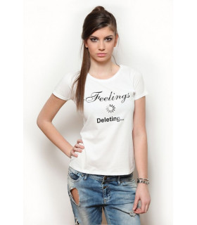 "Tricou ""Feelings Deleting"""