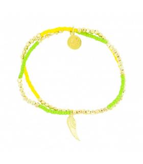 Bratara Gold Wing