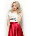 """Tricou """" My Love is Absolutely Fabulous"""""""