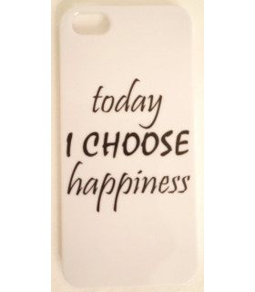 "Carcasa "" Choose Happiness """