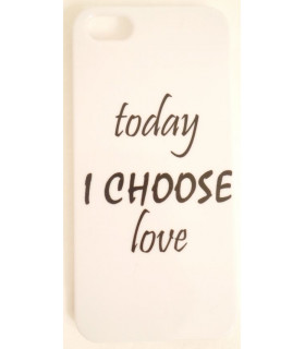 &quot Choose Love &quot Phone Shell