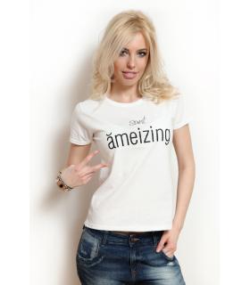 "Tricou ""Sunt Amezing"""