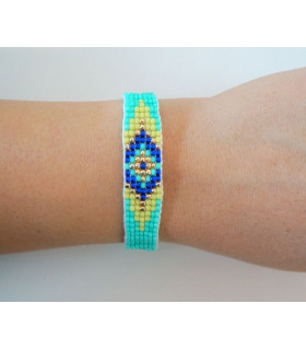 Traditional Bracelet Baby Blue