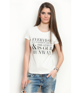 "Tricou "" Everyday is a fashion show """
