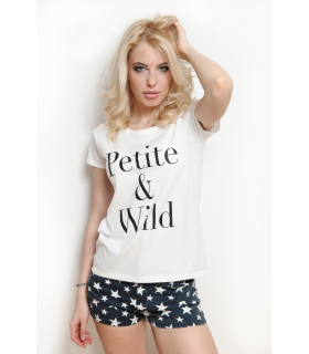 &quotPetite and Wild&quot T-shirt