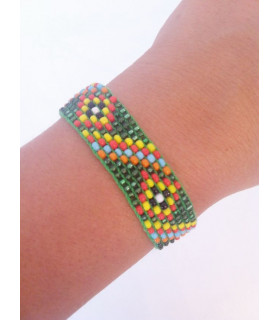 Traditional Bracelet Dark Green