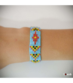 Traditional Bracelet Bleu