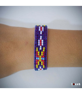 Traditional Bracelet Purple