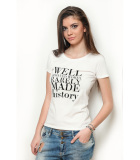 "Tricou ""Well Behaved Women"""