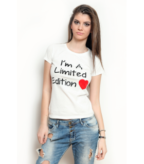 &quotI'M A LIMITED EDITION&quot T-shirt