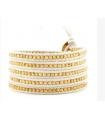 All White Bracelet