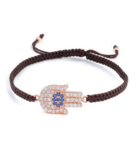 Brown Hamsa Bracelet