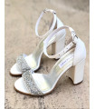 ''Happy Bride'' Sandals
