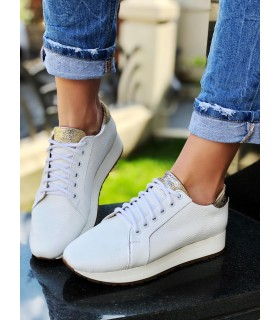 Pure White Sport Shoes