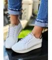 Adidasi Pure White