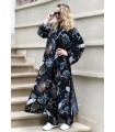 Tropical Vibe Kimono Dress