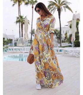 Oriental Lily Dress