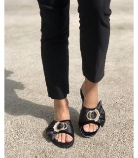 Papuci din piele Ariel
