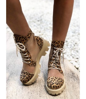 Soft Leopard Boots