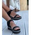 Sandale Black & Sparkle