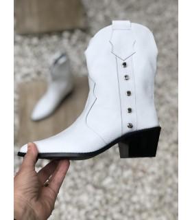 White Festival Boots