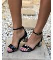 Silver Chain Sandals