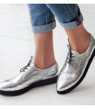 Silver Glam Shoes