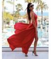 Red Rubin Dress
