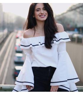 Spring White Shirt