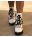 White Transparent Boots