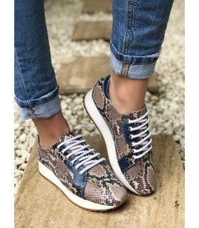 Blue Python Sport shoes