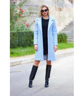 Ocean Blue Coat
