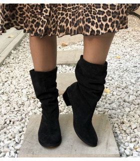 Black Midi Boots