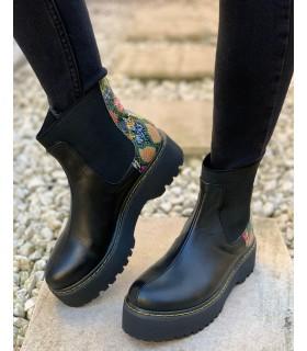 Rainbow Boa Boots