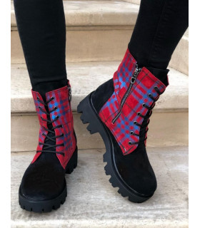 Boston Red Boots